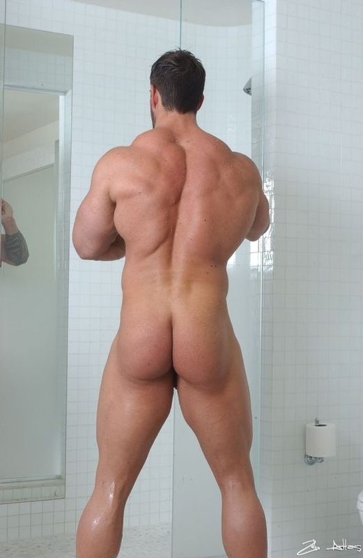 naked guy big butt
